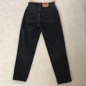Levi 551 Black jeans